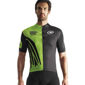 assos SS.capeepicXCJersey_evo7 Bike Jersey Shortsleeve Men green/black